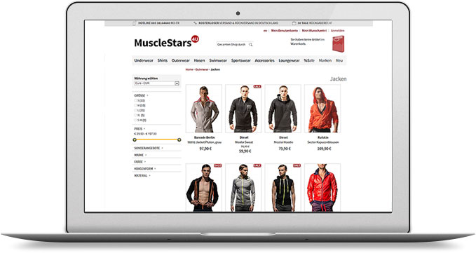 E-Commerce, Shop, Magento, Theme